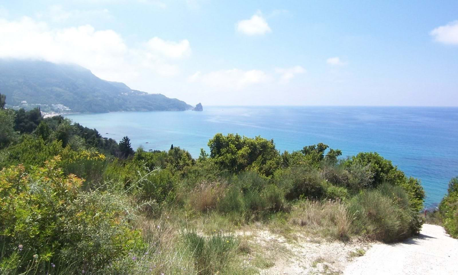 land for sale west corfu