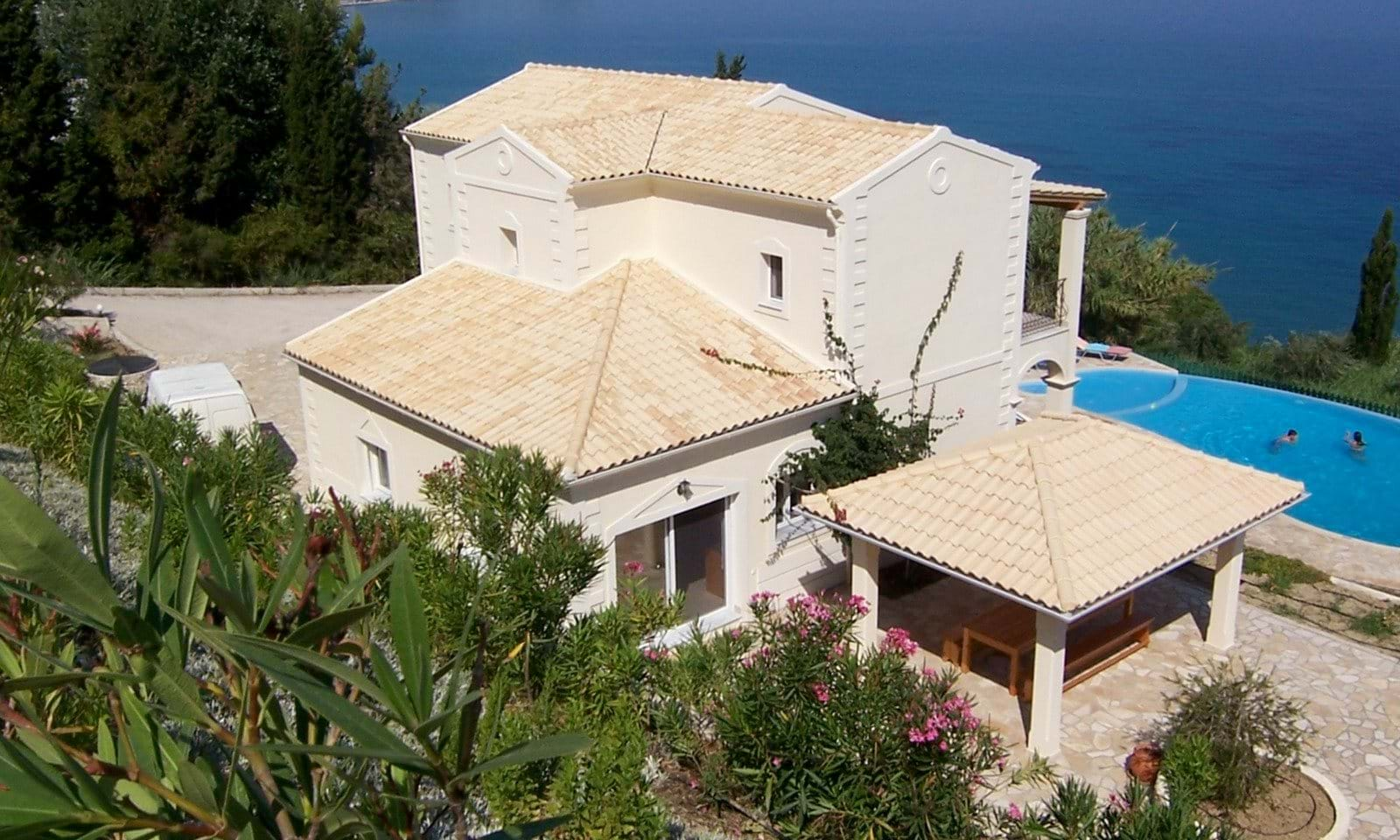 Luxury villas for sale in Corfu