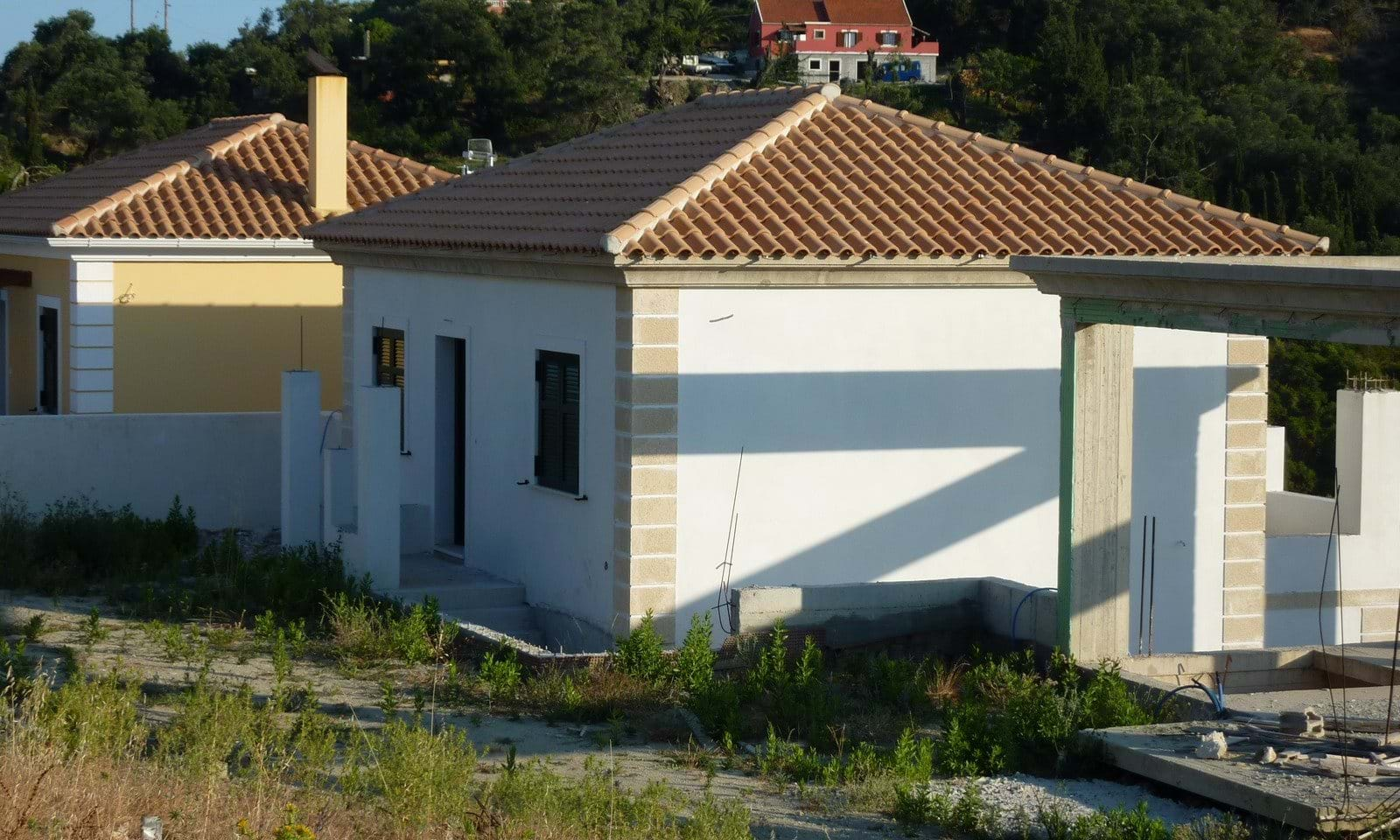 Sea view villas for sale in Corfu