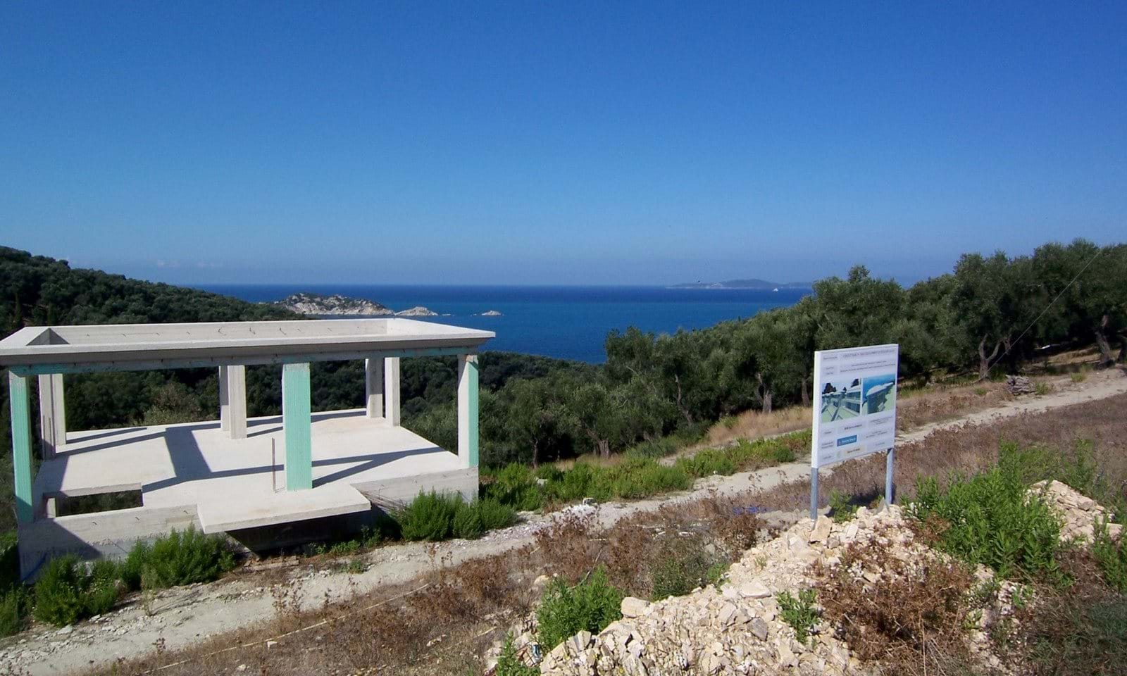 New build property for sale in Corfu