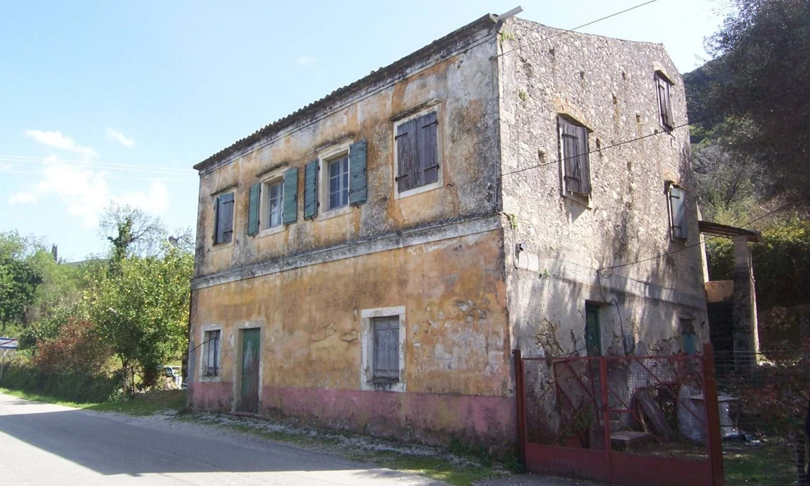stone property corfu for sale