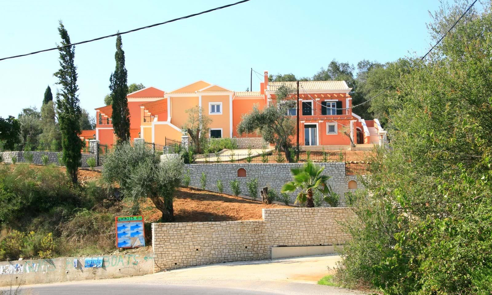 New houses for sale in Corfu