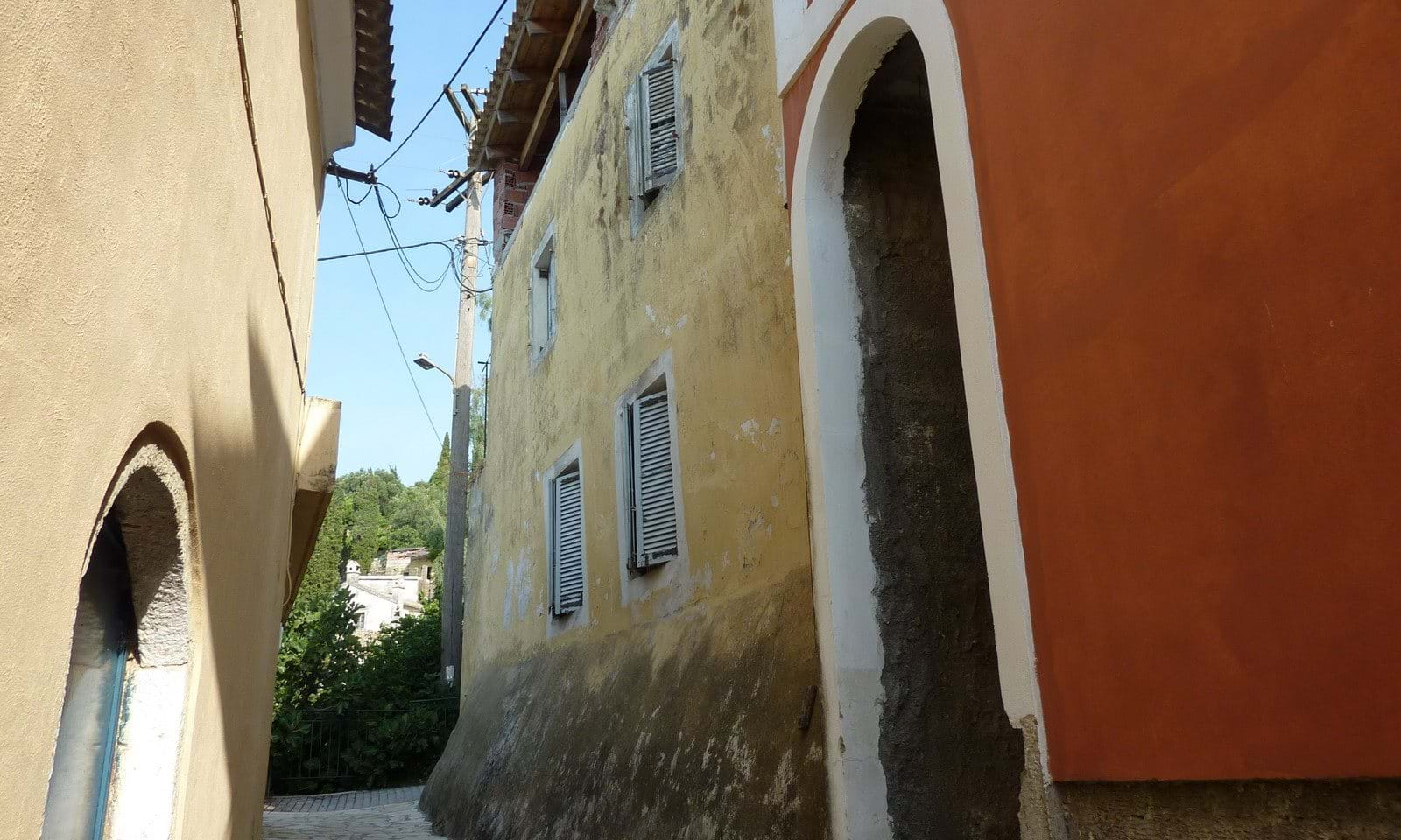Village house for sale in Spartillas Corfu