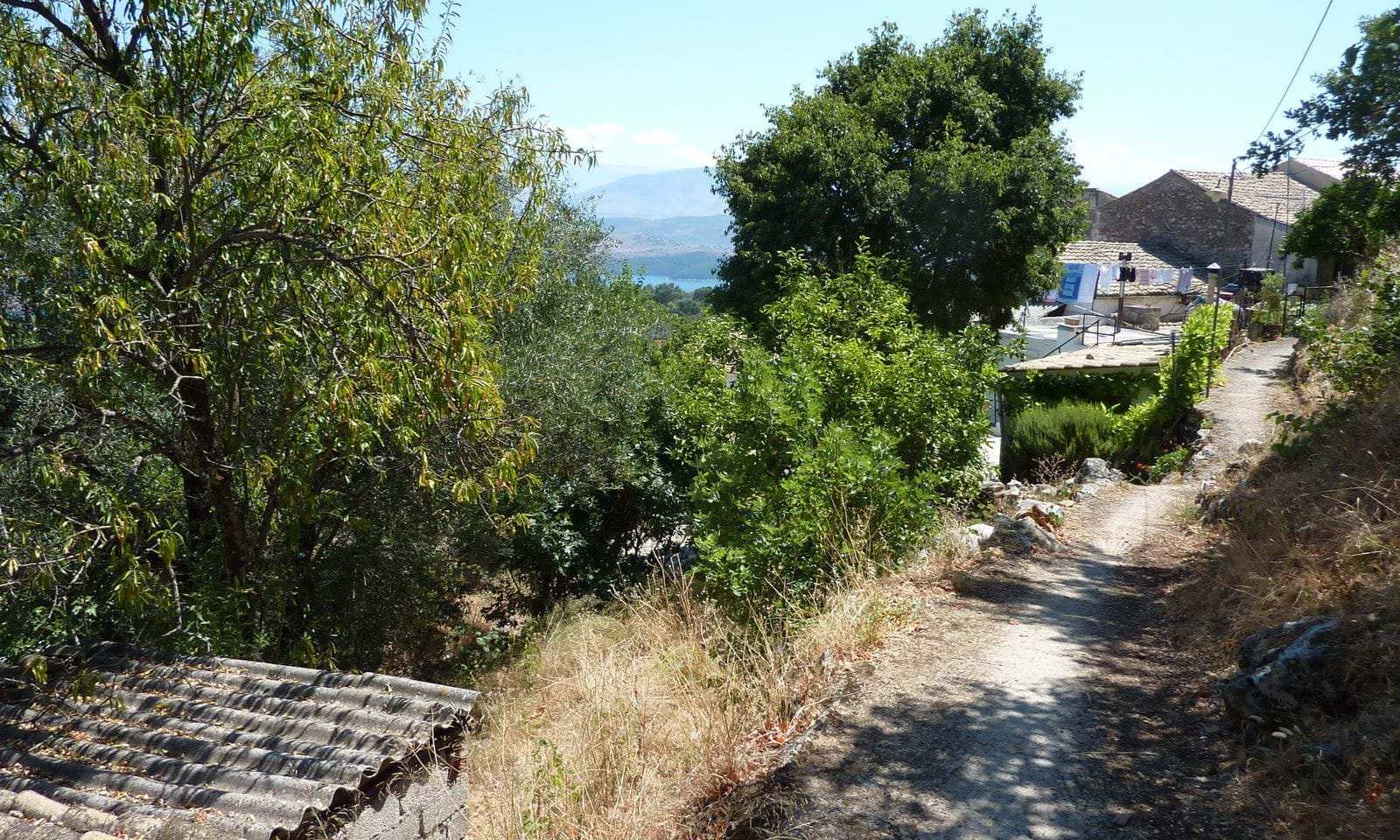 Village land for sale Corfu