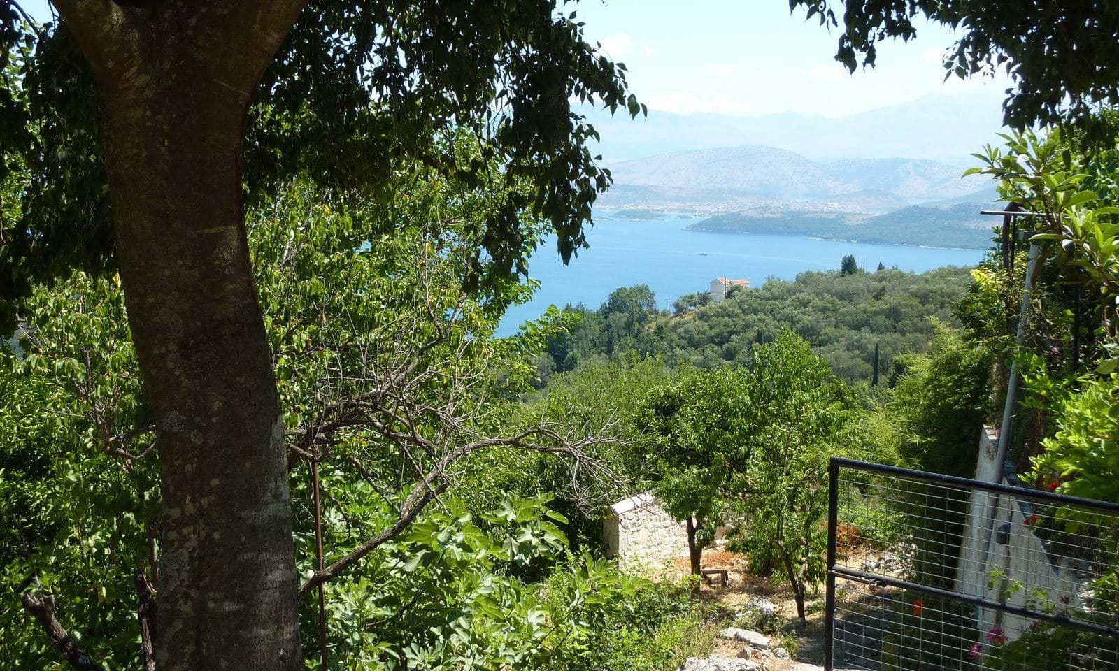 Building land in Corfu