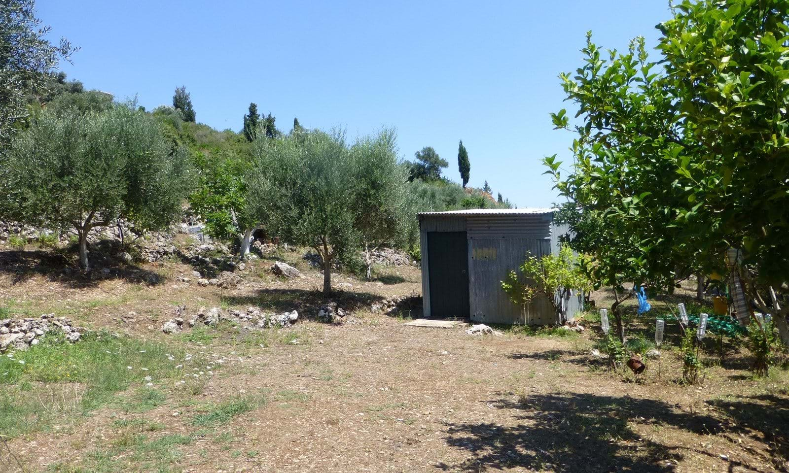 Central Corfu land for sale