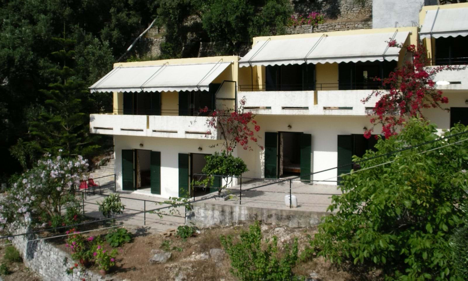 Apartment complex in Kaminaki Corfu