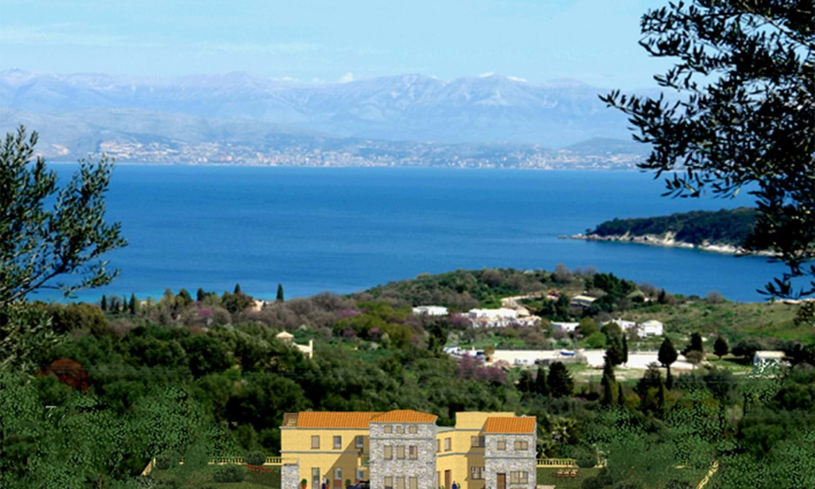 Corfu land and building licence