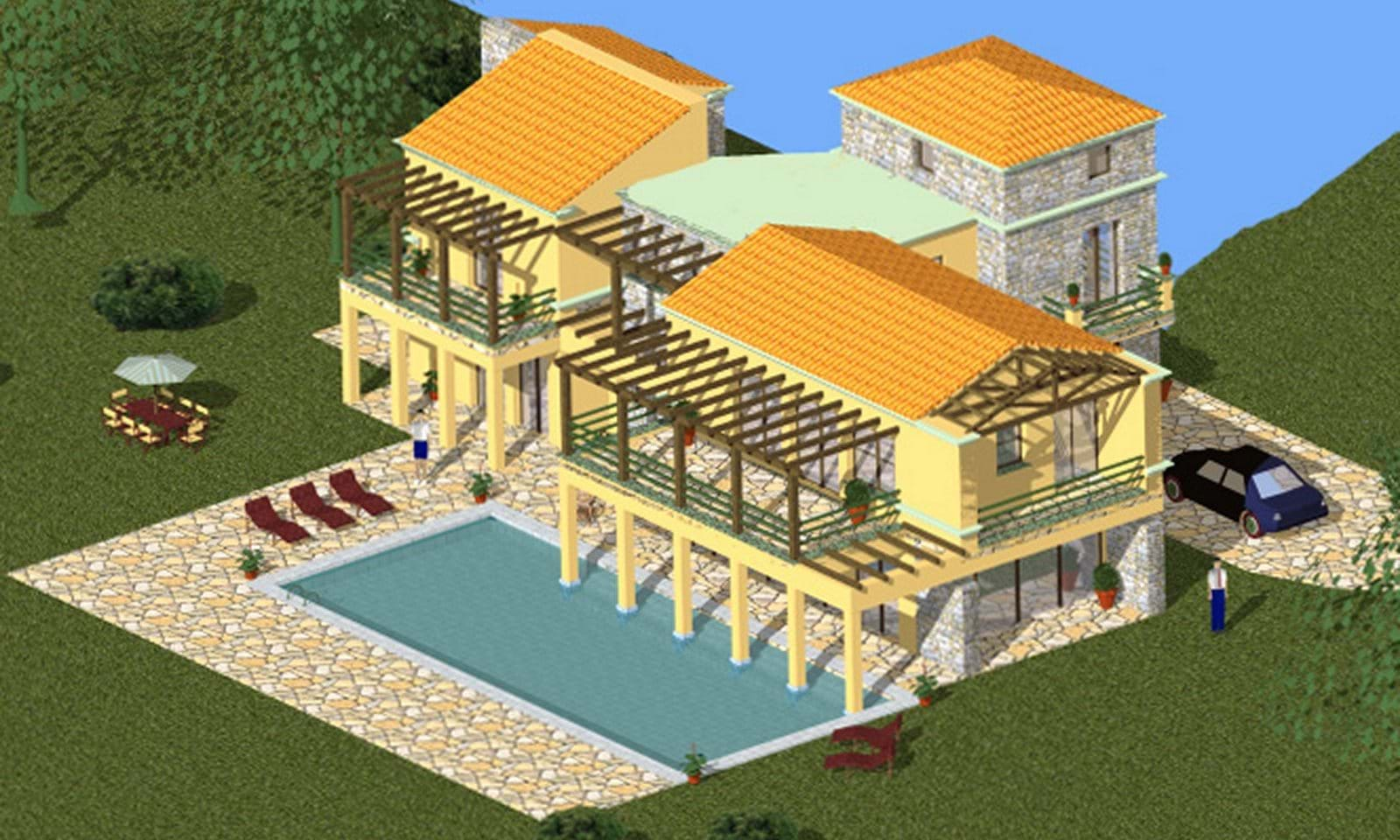 Build a house in Corfu