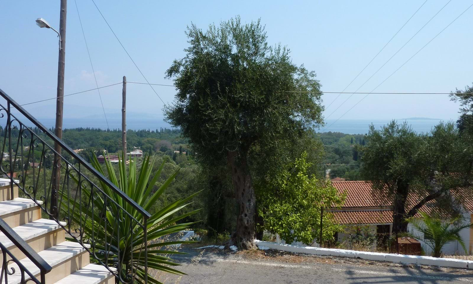 Sea view property in Corfu