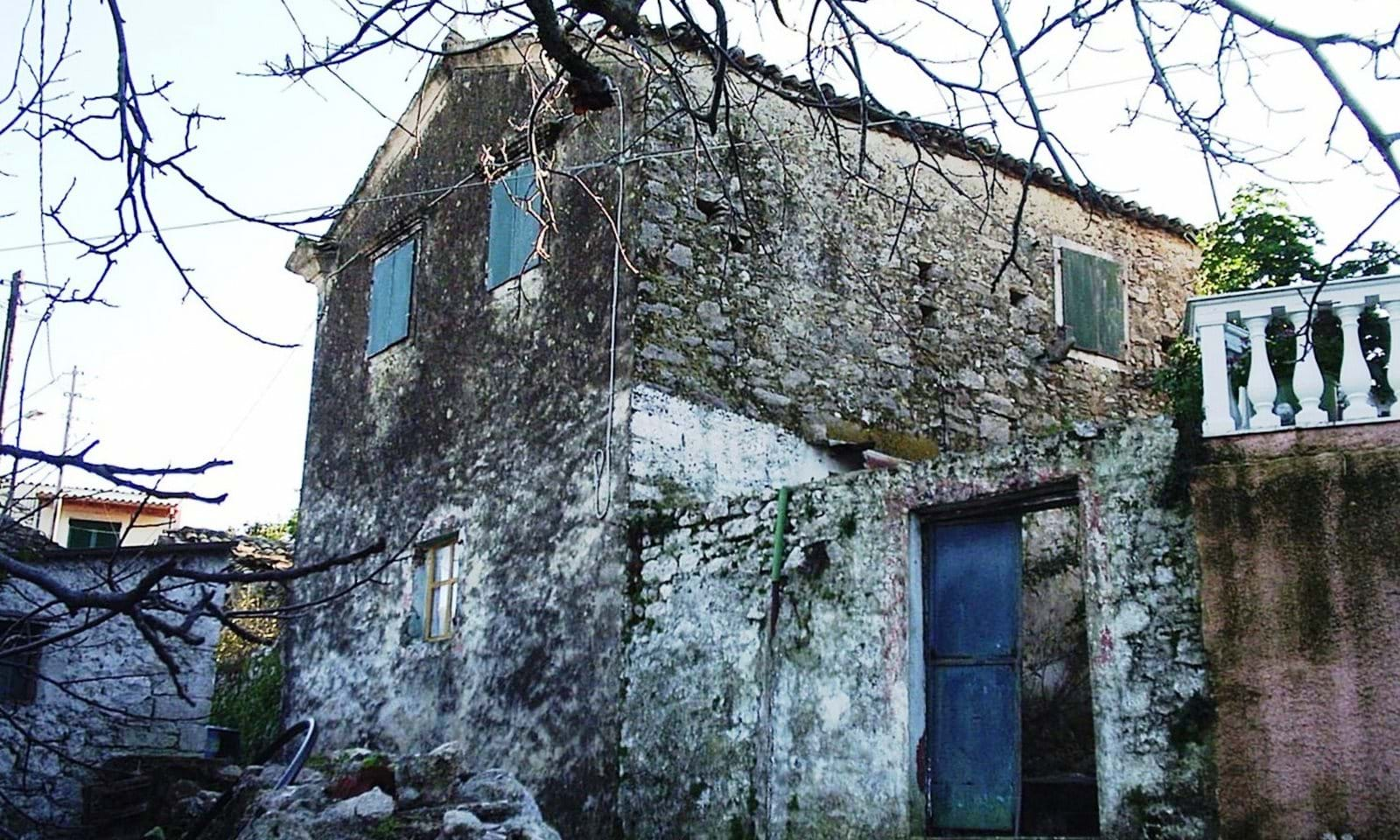 traditional corfu house for sale