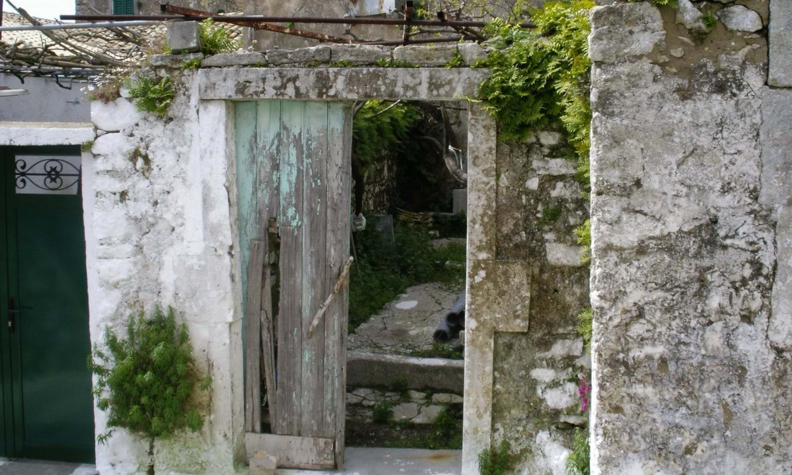 Village property for renovation in Corfu