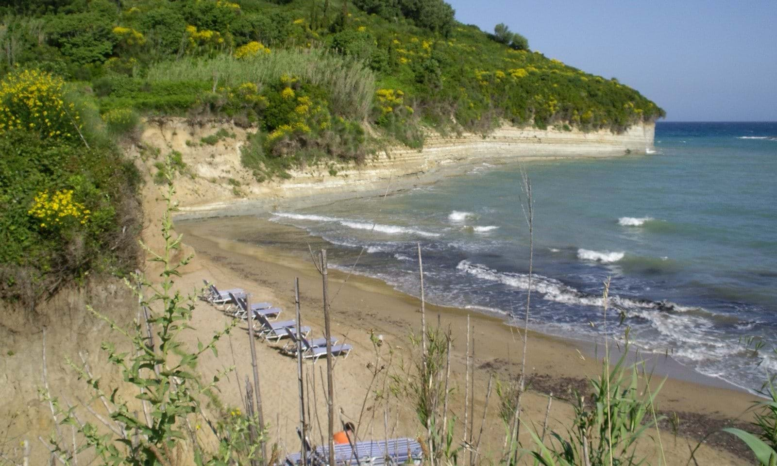sea side land for sale in north corfu