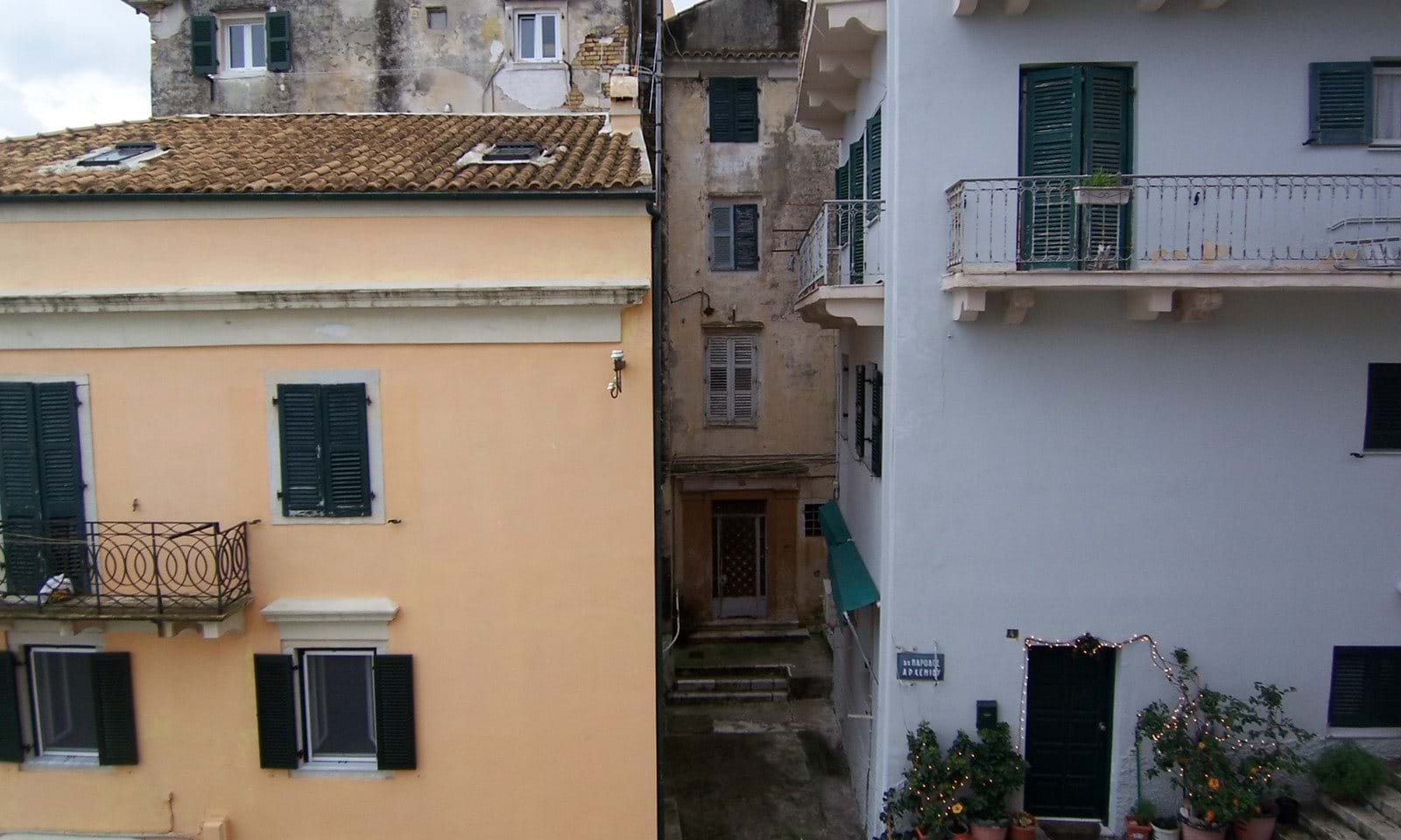 Corfu town houses for sale
