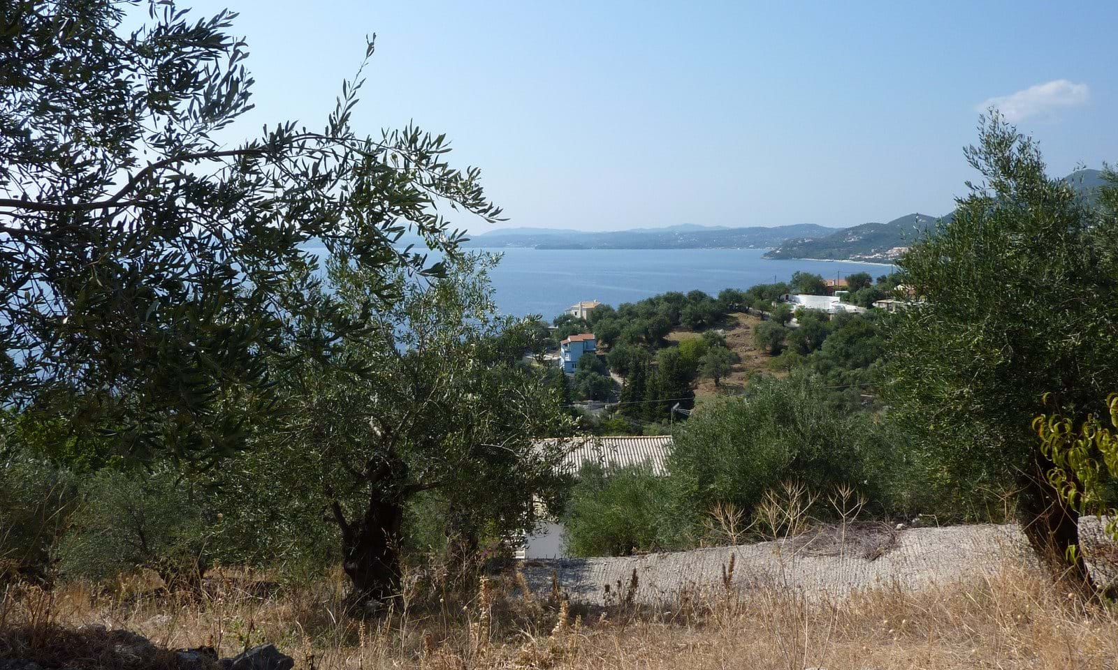 Buying land in Corfu