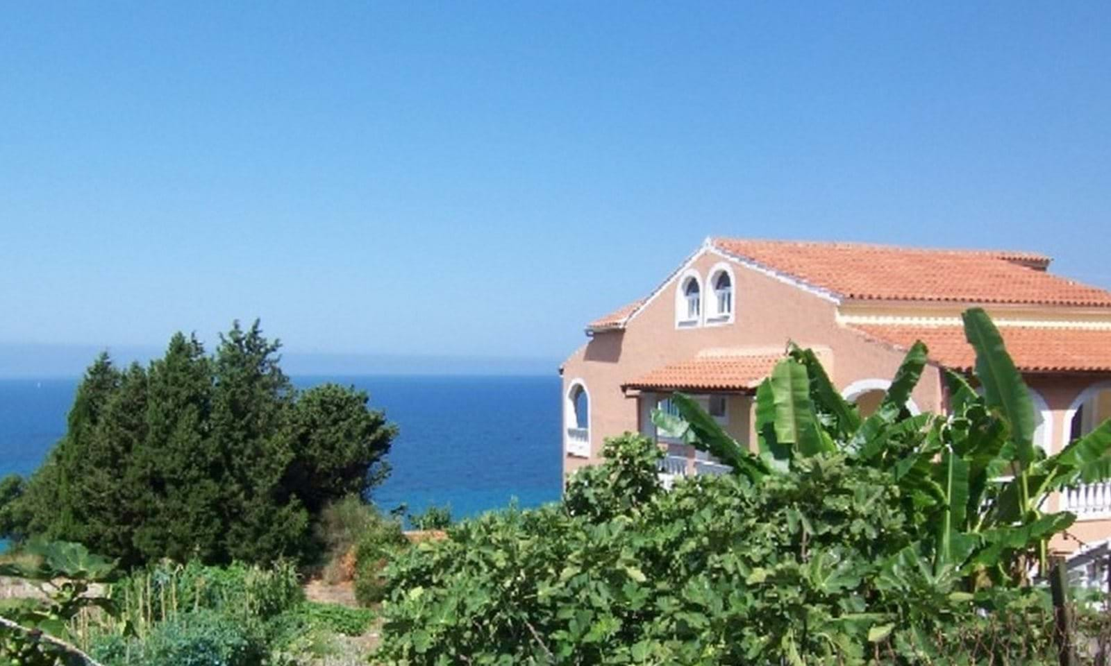 seaside villa for sale greece
