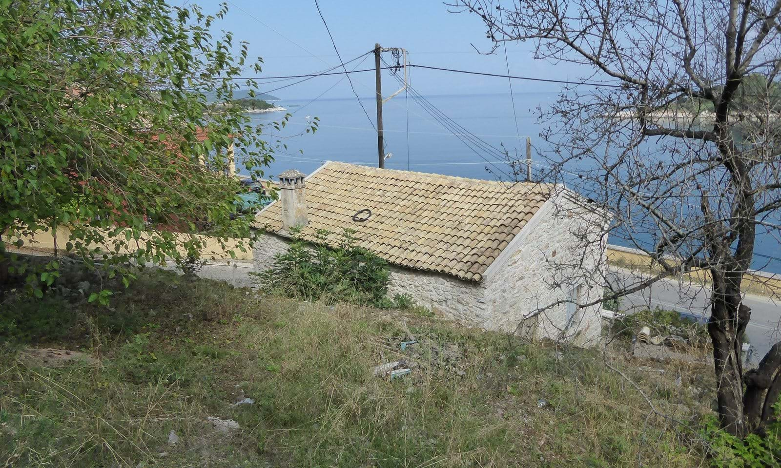 Seaside property for sale in north east Corfu