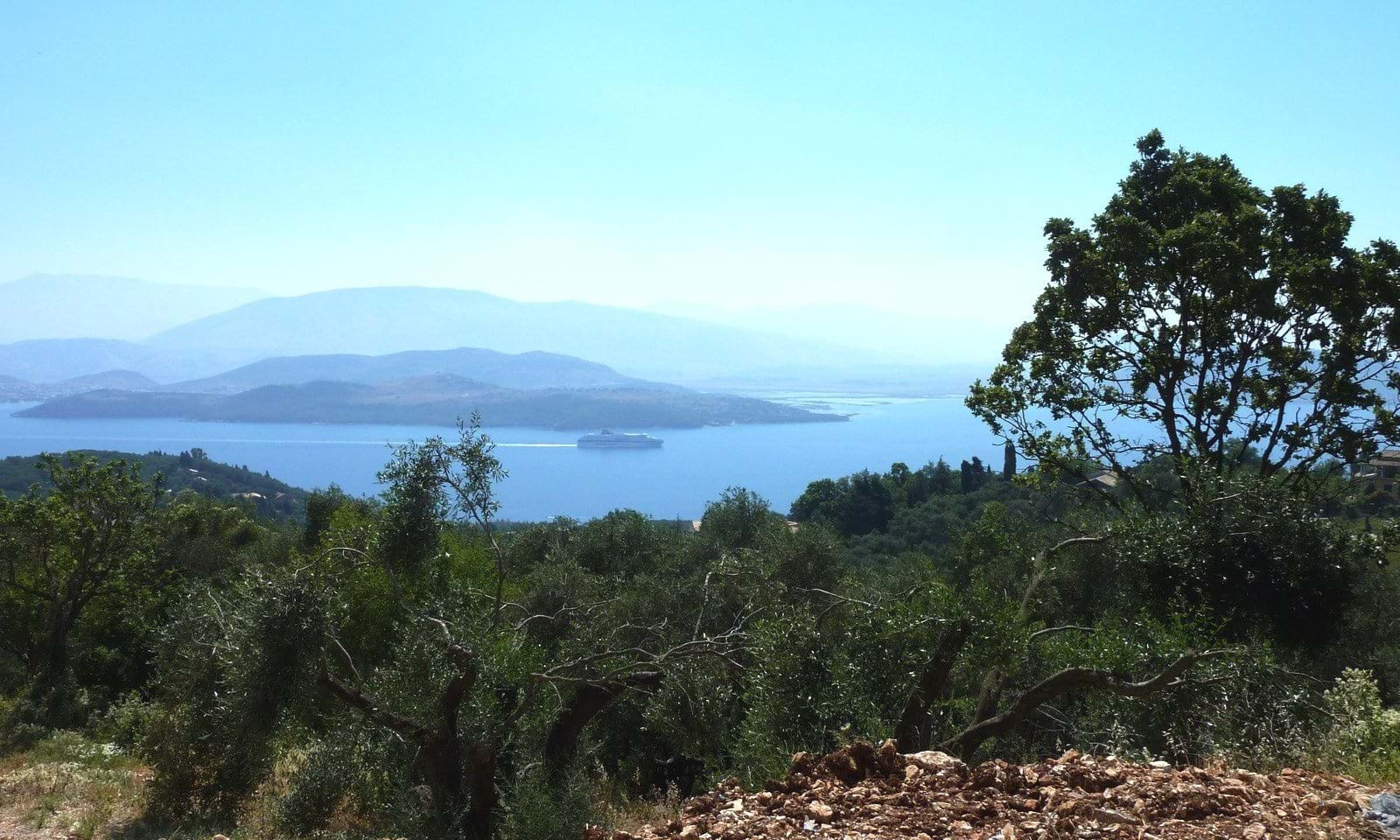 land with seaview for sale in greece