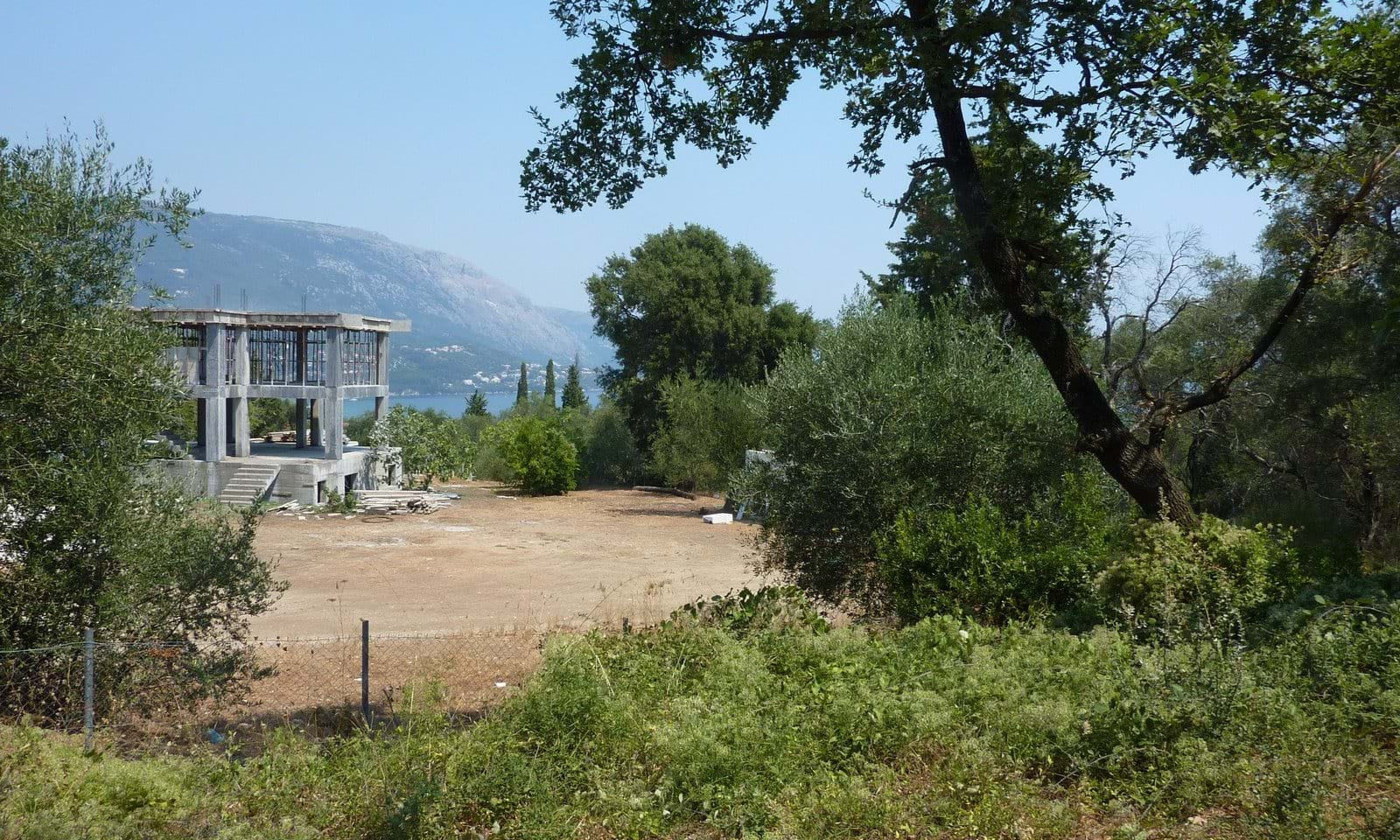 Corfu building land