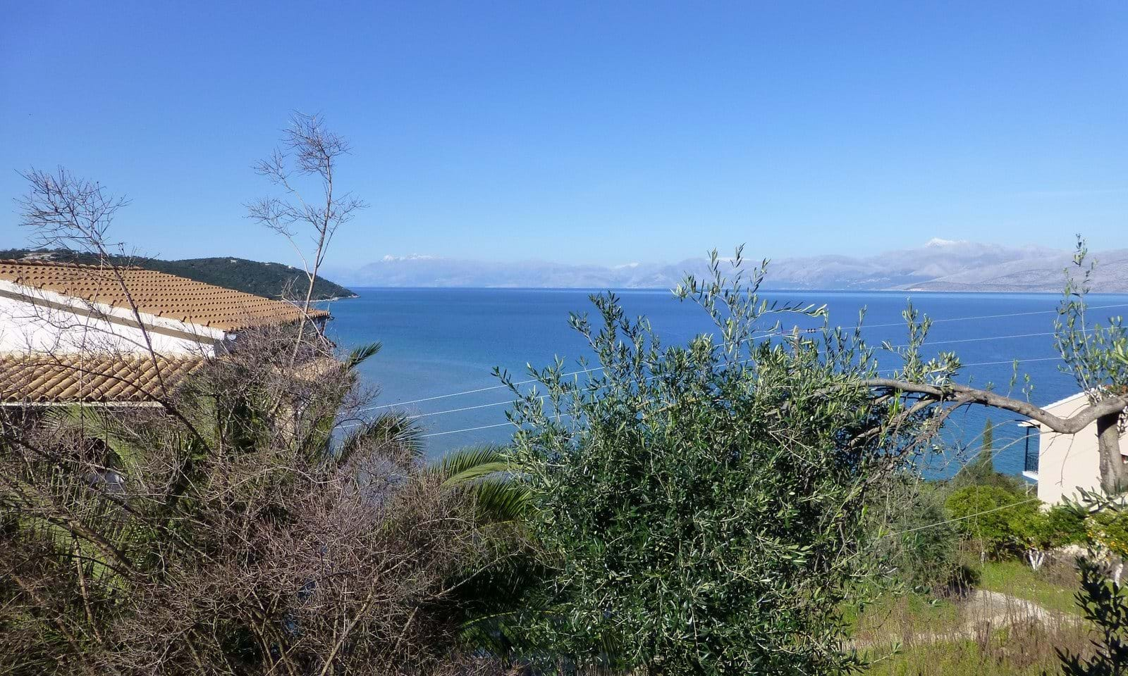 Land for sale in Apraos Corfu