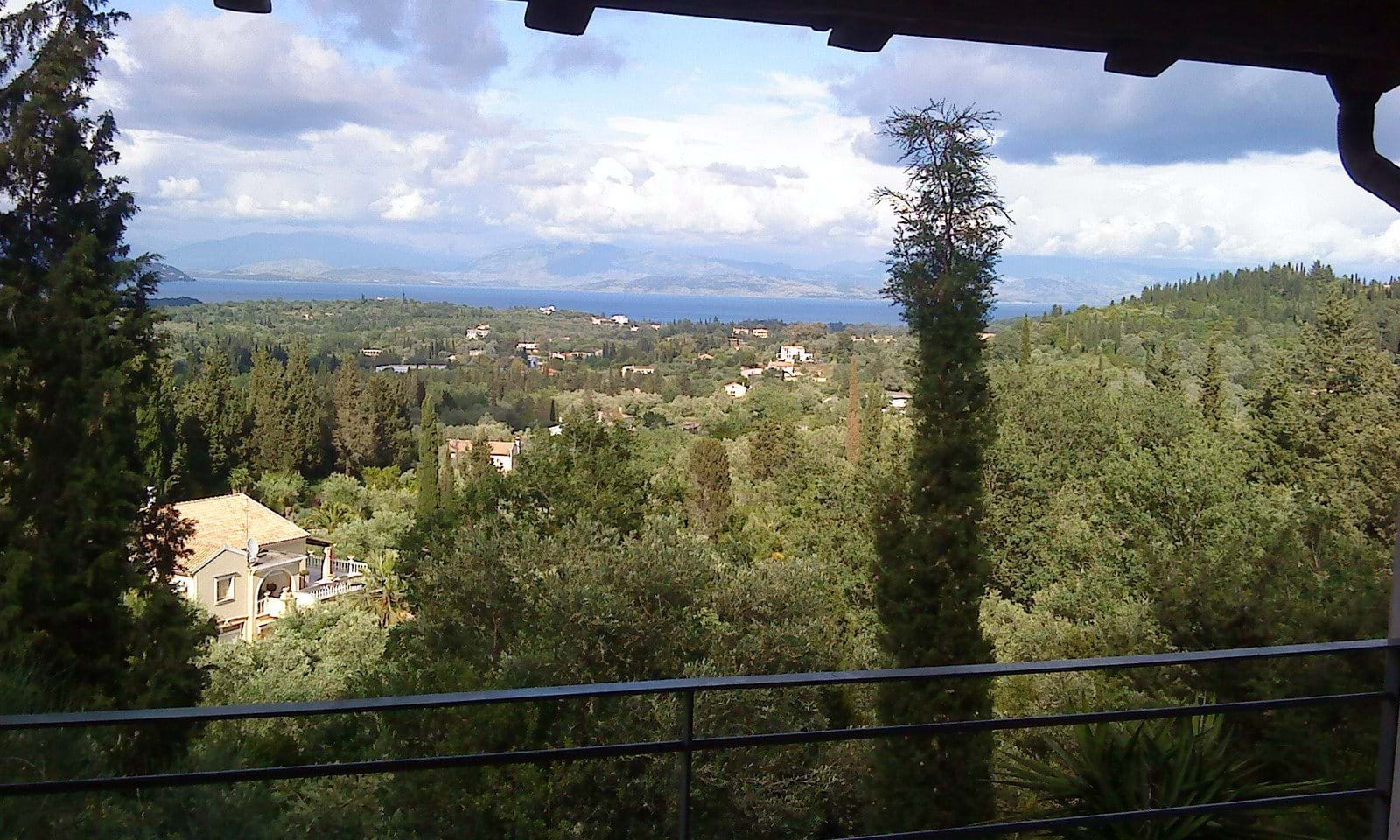 Sea view property for sale in Corfu