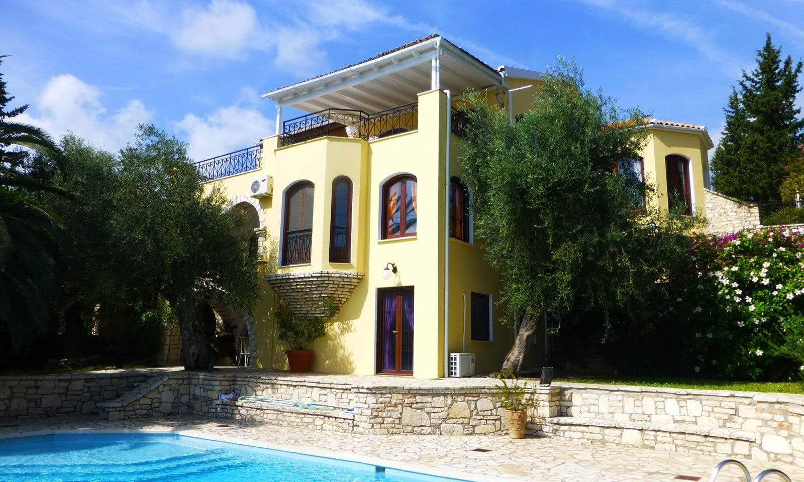 Luxury property for sale in Corfu Greece