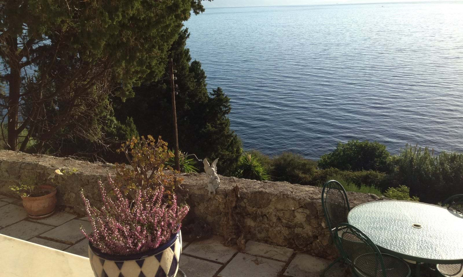 central corfu villa for sale, villa for sale near the sea