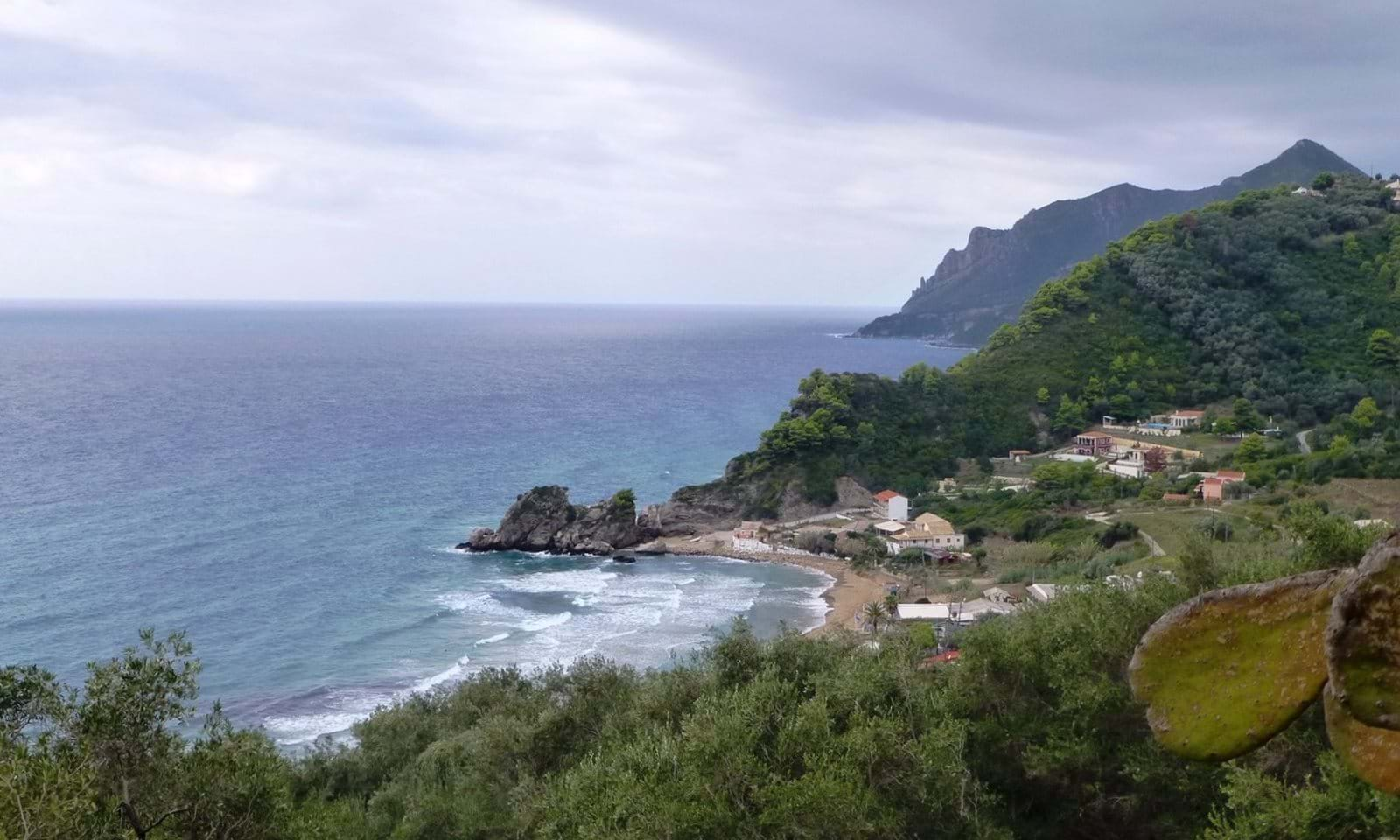 Land for sale in Pelekas Corfu