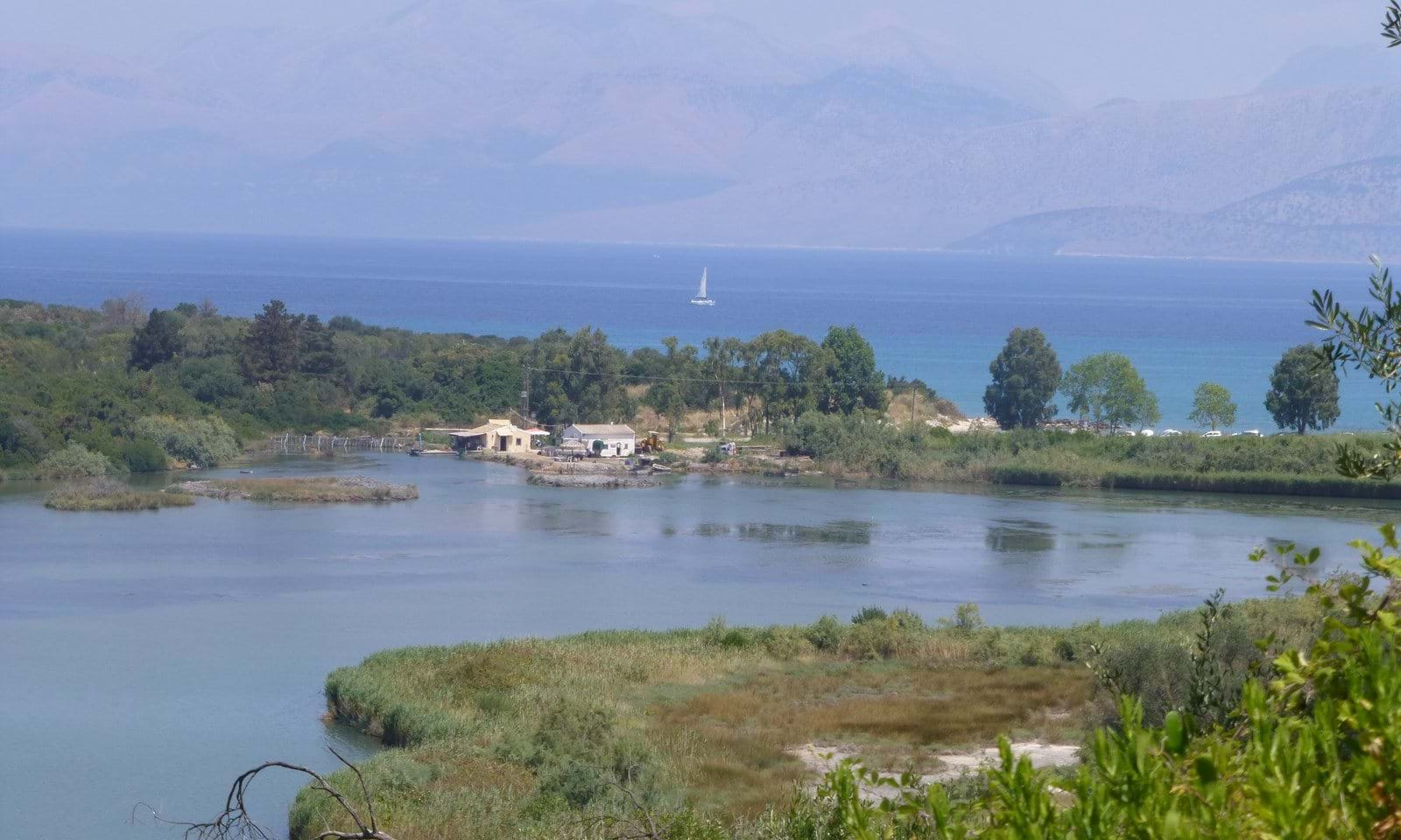 Sea View land for sale in Corfu