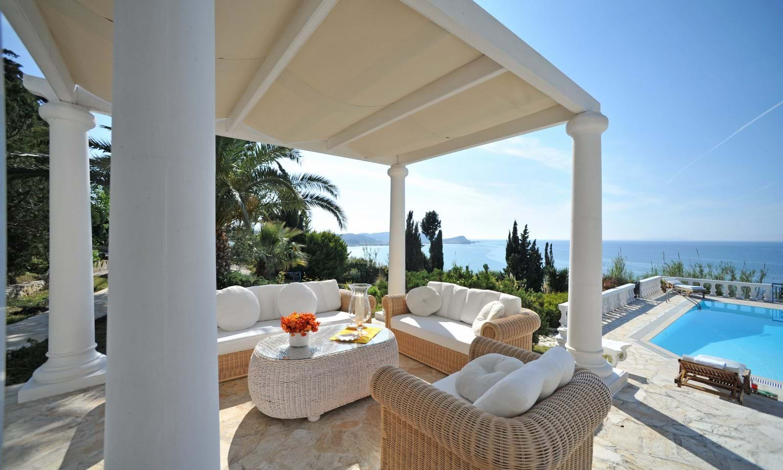 Greek luxury beach property