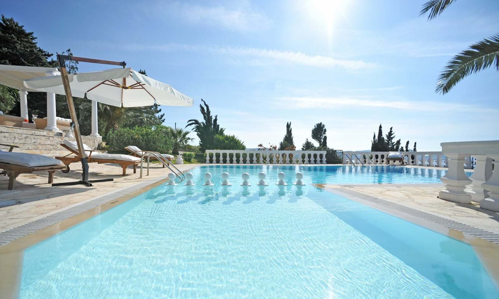 Villas with pools for sale in Corfu