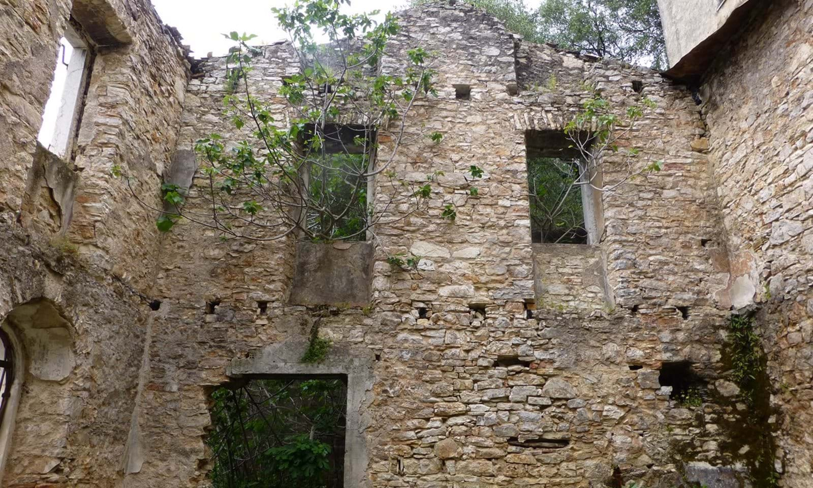 old stone buildings for sale in Corfu