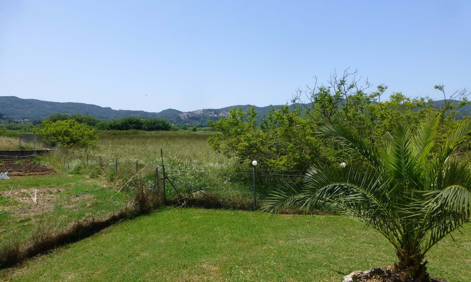 villa with pool corfu for sale