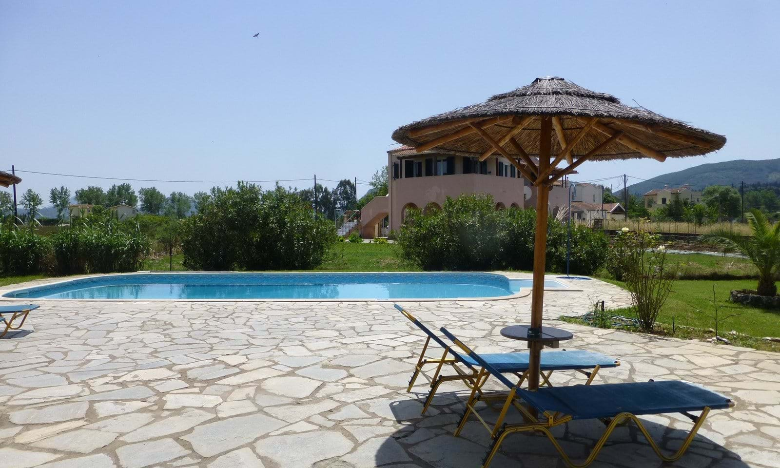 pool property for sale Corfu