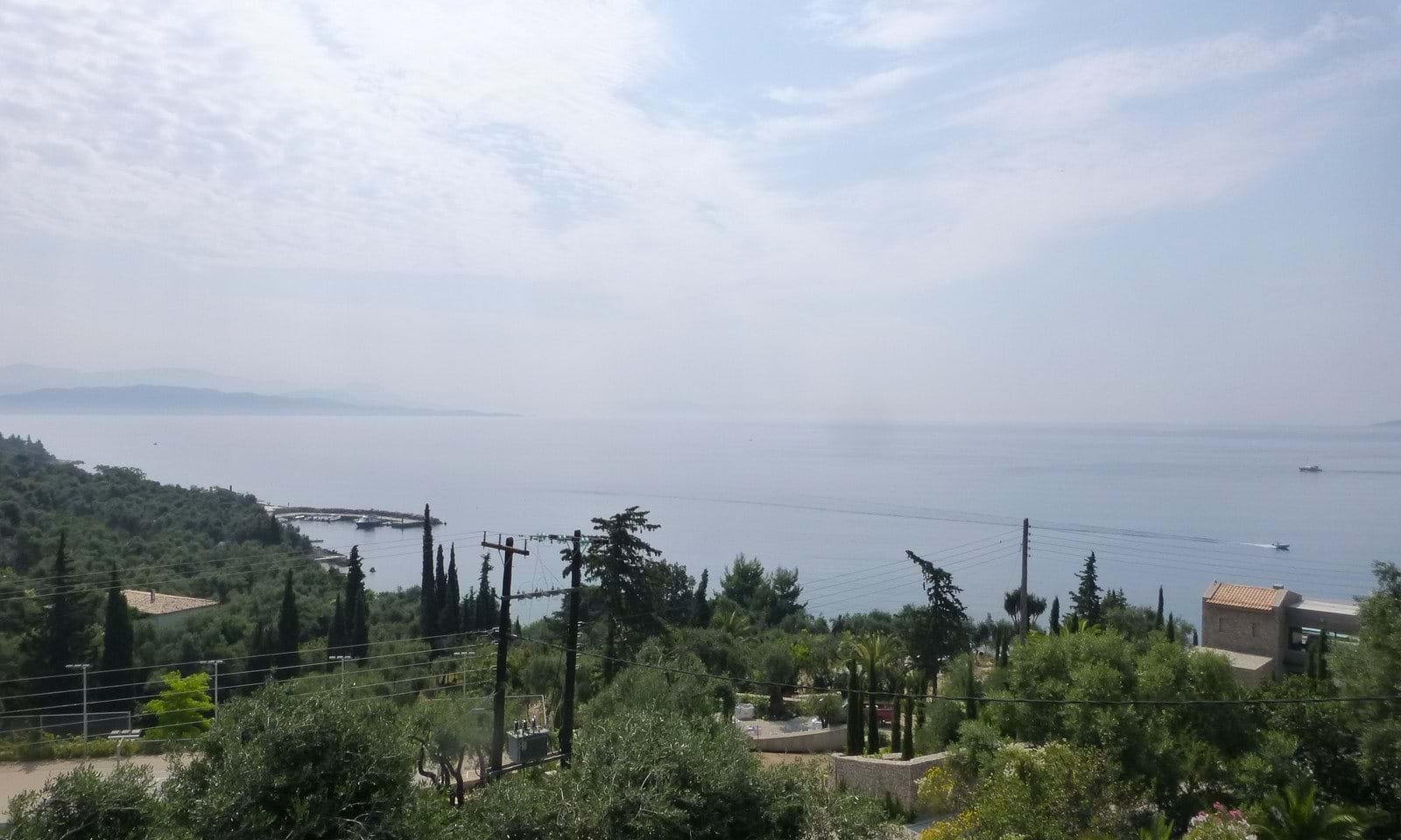 seaview property corfu