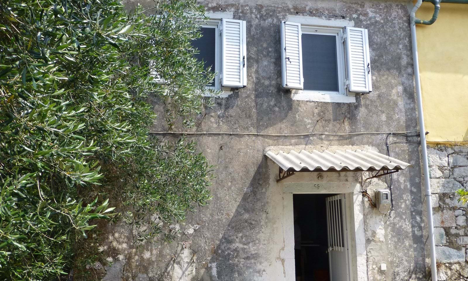 Stone property for sale in Corfu Greece