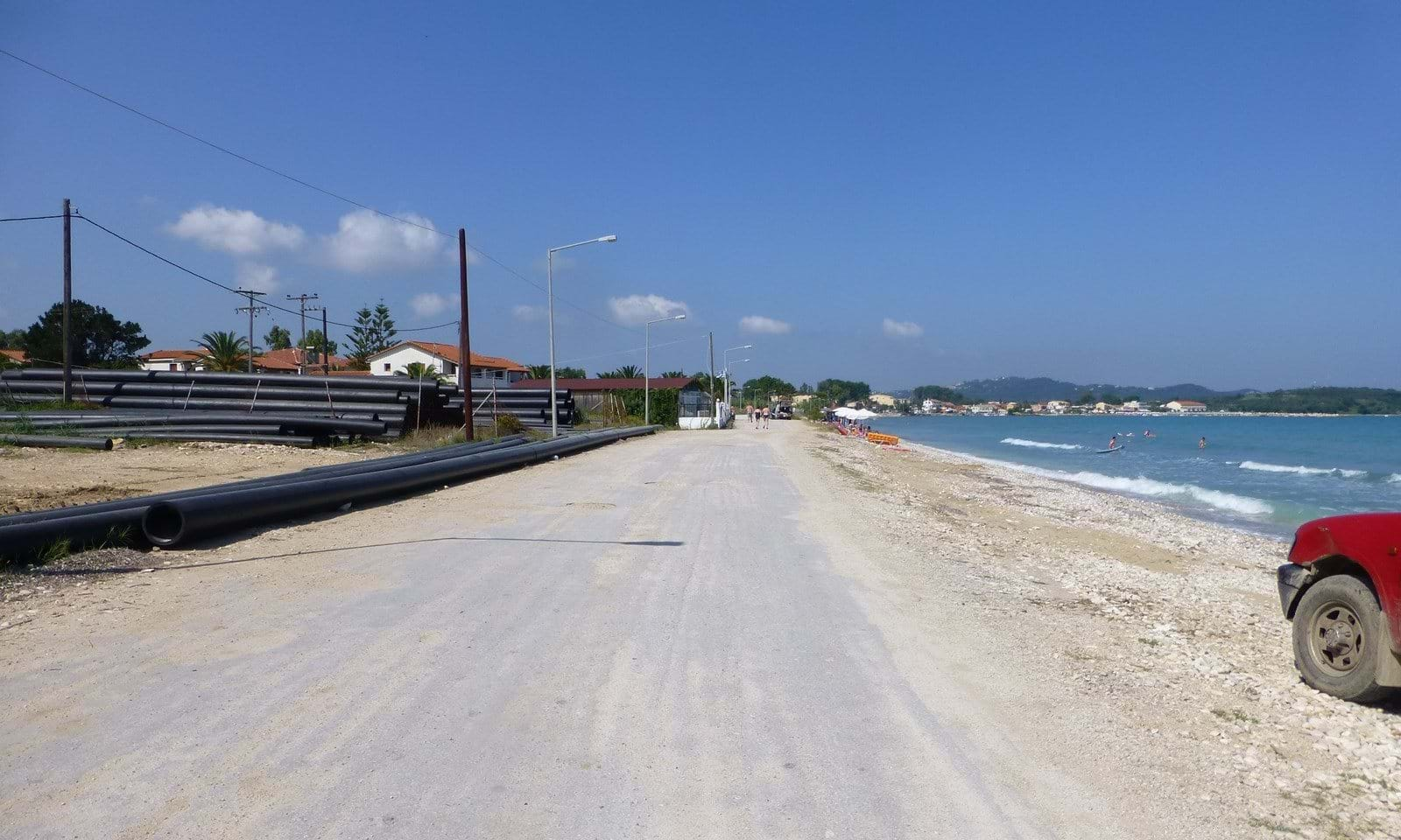 Beach front land for sale in Corfu