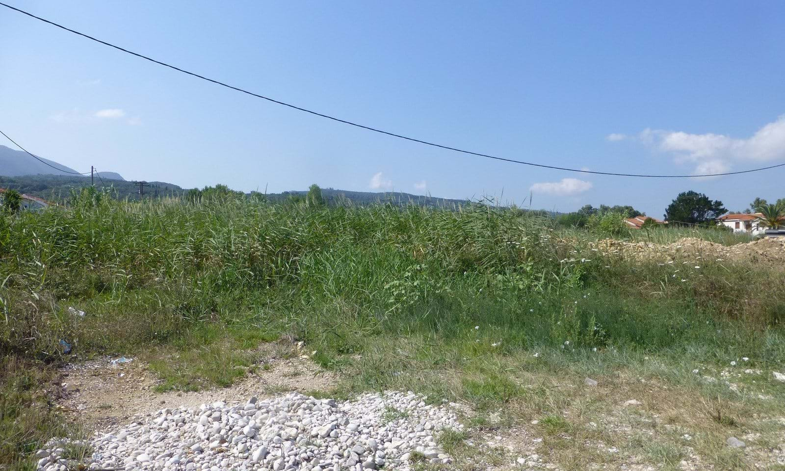 Building land for sale on the sea shore in Corfu
