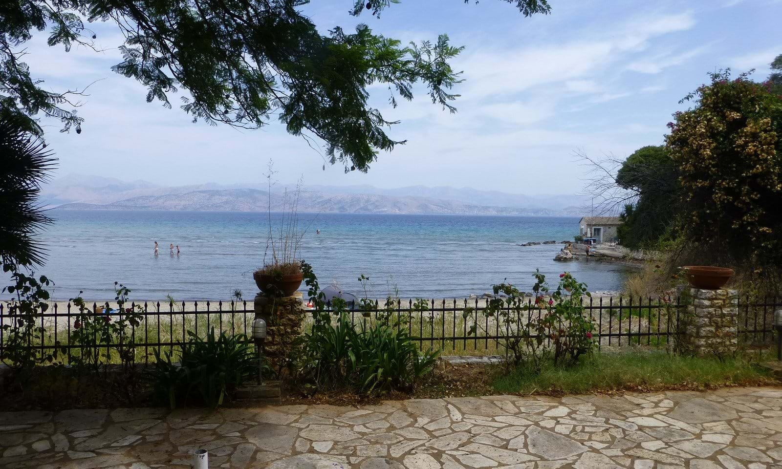 Property for sale on the beach in Corfu