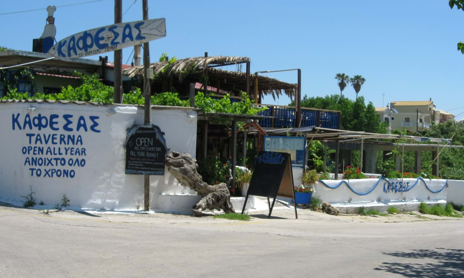 fish restaurant by the sea
