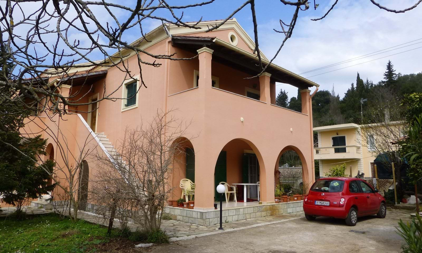 Property for sale in central Corfu Greece