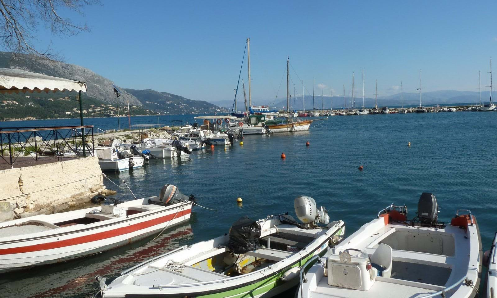 Harbour side property for sale in Corfu