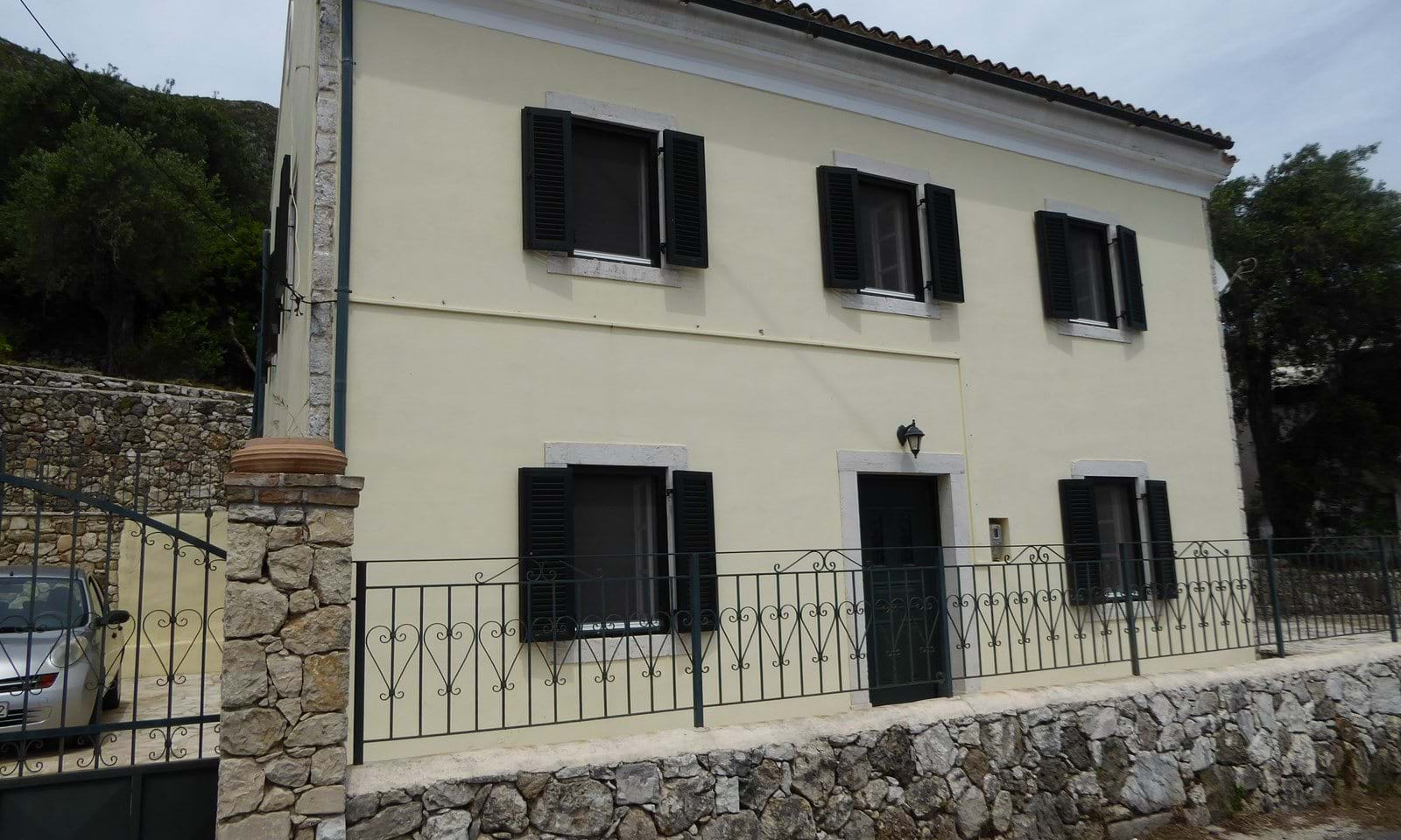 Renovated village properties in Corfu