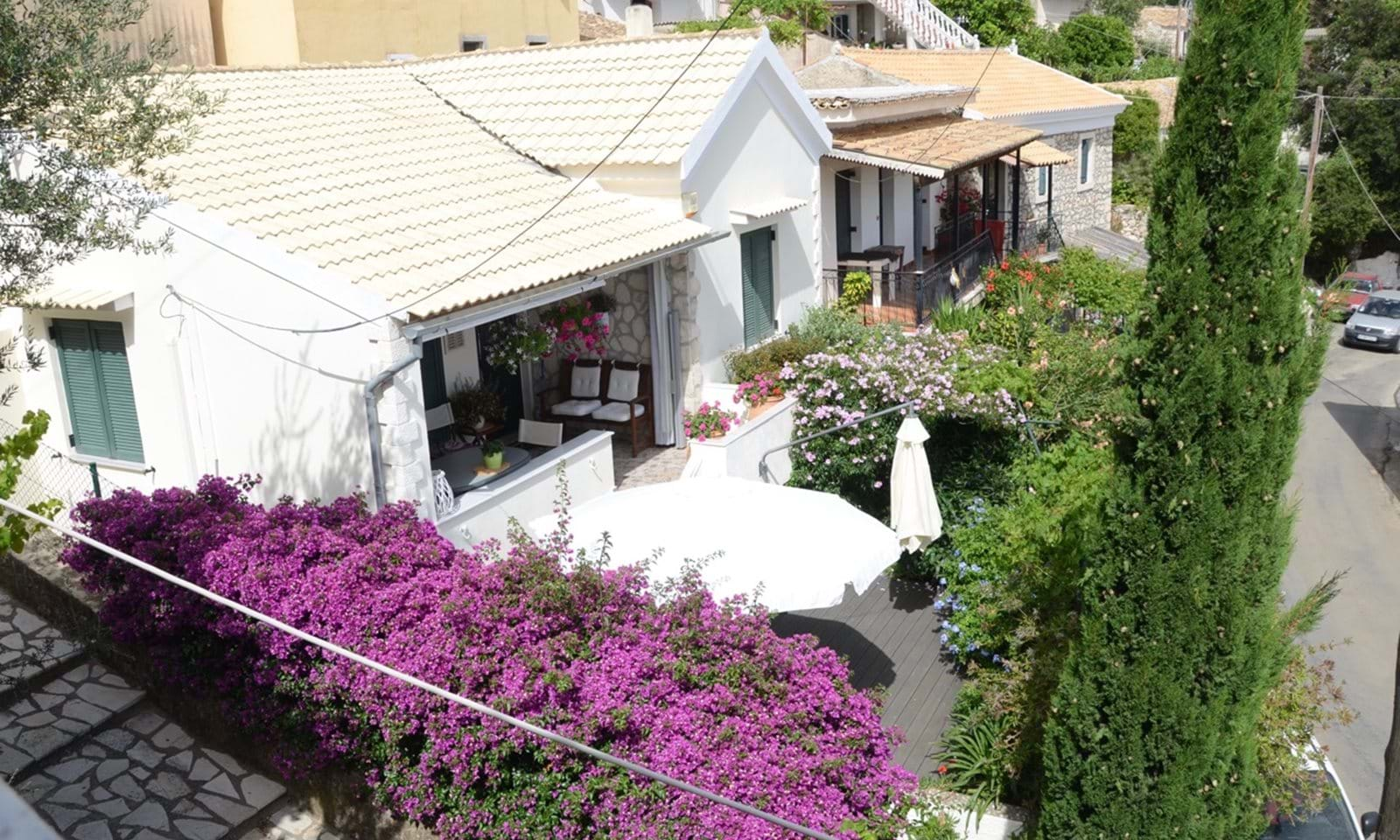 House for sale in Lakones Corfu