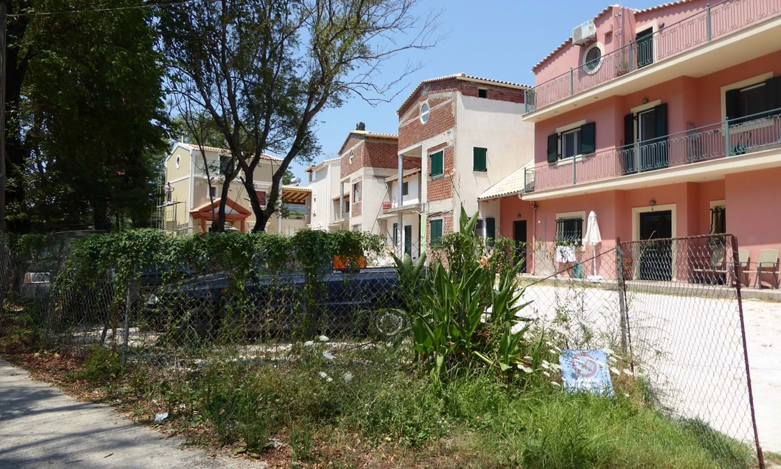 Property with rental potential in Corfu
