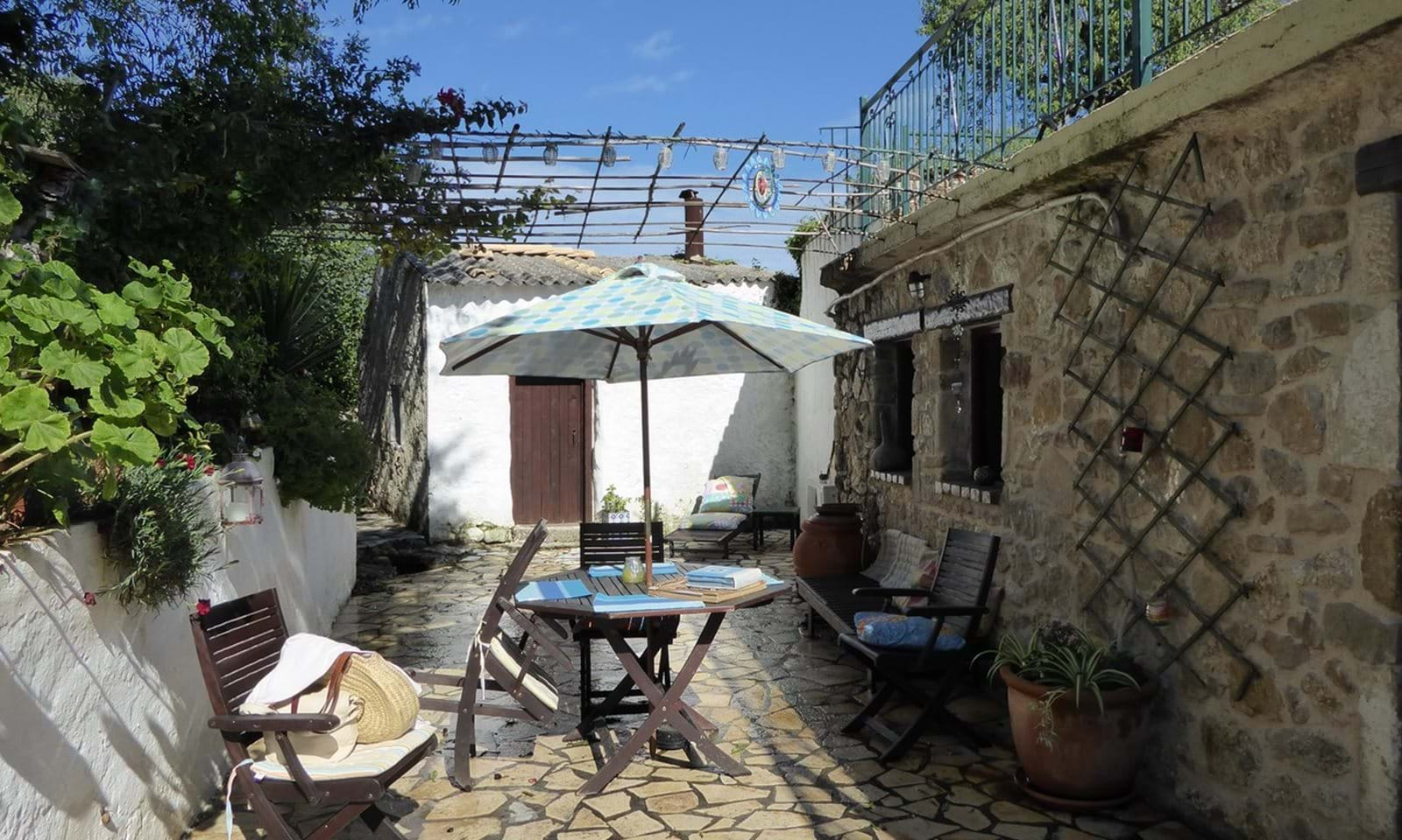 Renovated village house for sale in north Corfu
