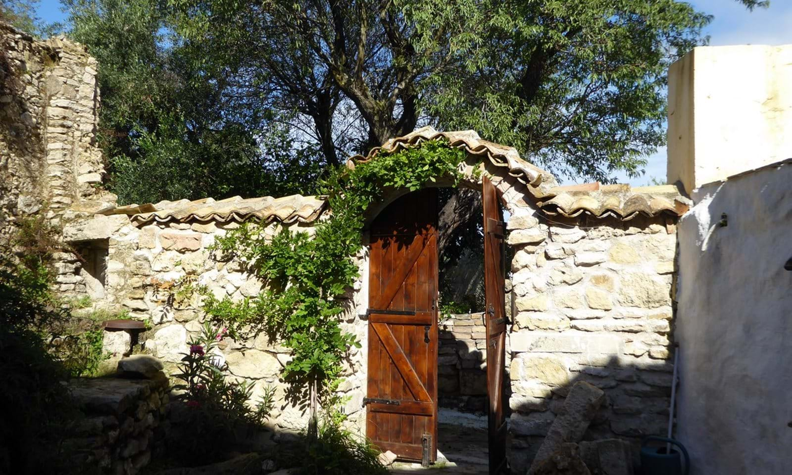 Stone village house for sale in North Corfu