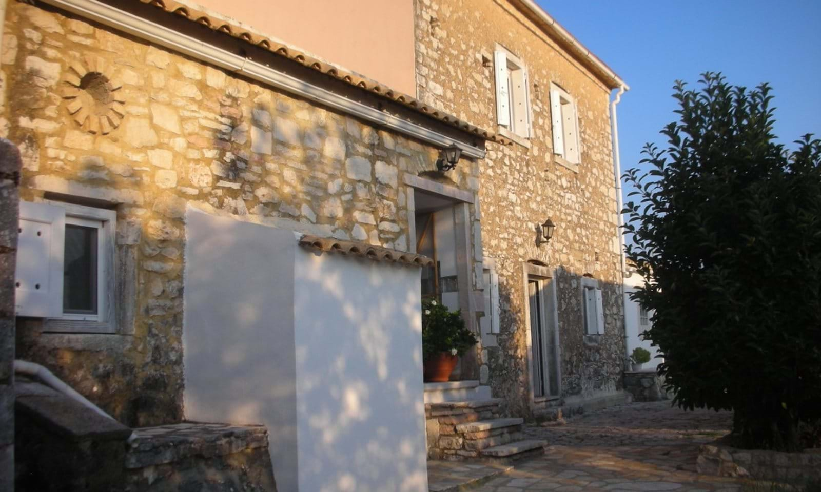Restored village house for sale in north Corfu