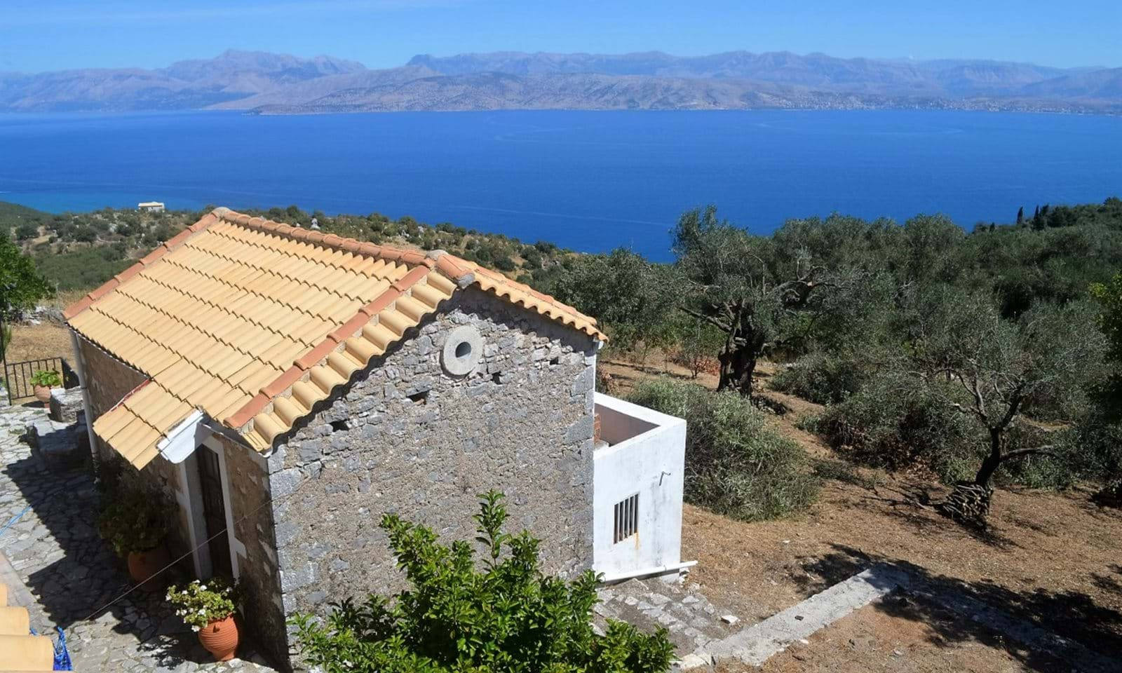Renovated village house for sale in Corfu
