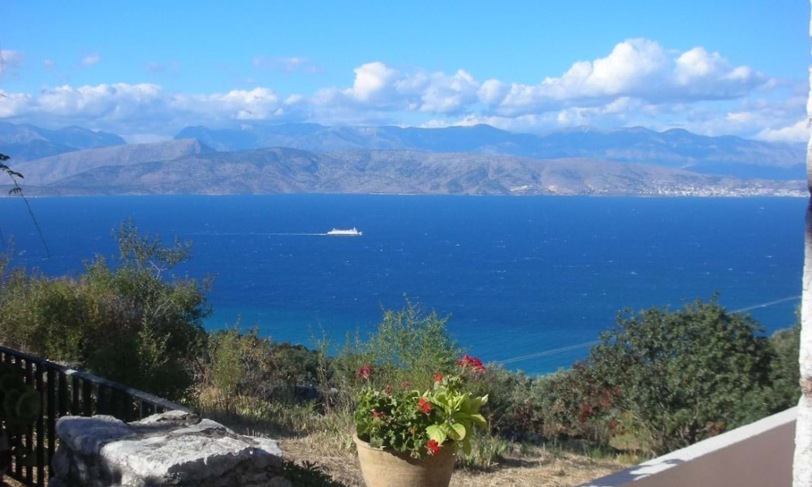 North Corfu property for sale